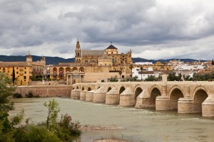 Puente romano de Cordoba or 'Roman Bridge of Cordoba'