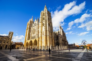 Gothic Cathedral of Leon is a masterpiece of the Gothic style erected during the mid-13th century.