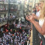 Exclusive Balconies to watch Running of the Bulls